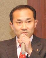 登壇した加賀谷伸一郎氏